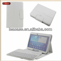 most popular white 360 degree rotating bluetooth keyboard case For The New iPad 4 3 2