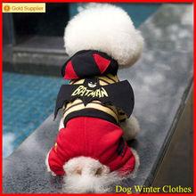 2014 Batman winter dog clothing
