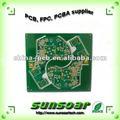 hasl acabado de la superficie sunsoar pcb circuito de hecho en china