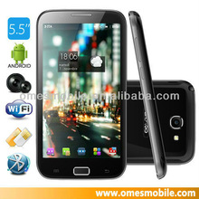 In stock!!5.5inch MTK6577 mobile phone ultra slim android smart phone