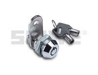 High security tubular key lock with master key