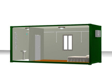 living 20ft container house