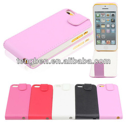 new product for iphone 5c leather case for iPhone 5C case