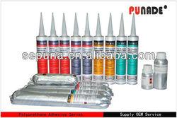 Bathroom polyurethane mould proof sealant/medical sealant/machinery printing toilet paper sealant