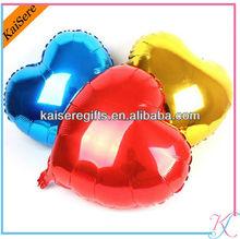 Aluminium mylar foil balloons
