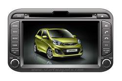 car dvd gps for kia picanto morning 2011 7 inch screen