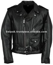 Men Fashion Leather Jacket Motorcycle Style