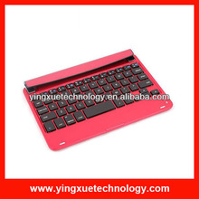 Slim Portable Aluminum Magnetic Wireless Bluetooth Keyboard Case Cover for iPad Mini