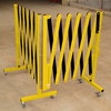 2013 yellow portable aluminium expandable barrier safety