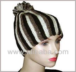 Woolen round hat