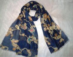 scarf polyeset print