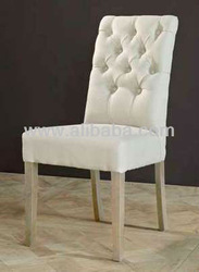 Upholstered dining chair Roco