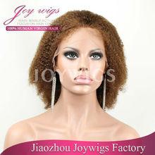 Wholesales golden resistant heat fiber kanekalon wigs