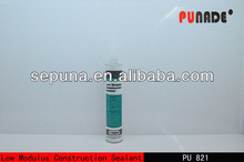 Low Modulus Polyurethane concrete joint sealant/double bathroom sink countertop adhesive