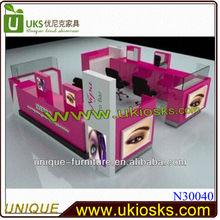 Beauty eyebrow kiosk design fashionable beauty eyebrow manufacturer