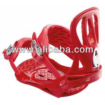 Artec Code Snowboard Bindings Red 2013