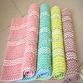 Tocar bien de absorber el agua de baño de chenilla esteras/alfombrillas cambia de color