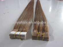 Brazilian Hair Extension/double sided PU tape hair extensions