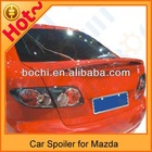 High quality of car roof rear spoiler auto rear spoiler