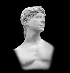David by Frank Joseph Head Bust B