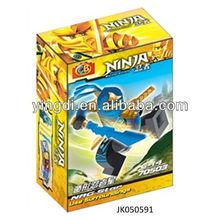 Cheap educational toys intellect building blocks ninja kawasaki