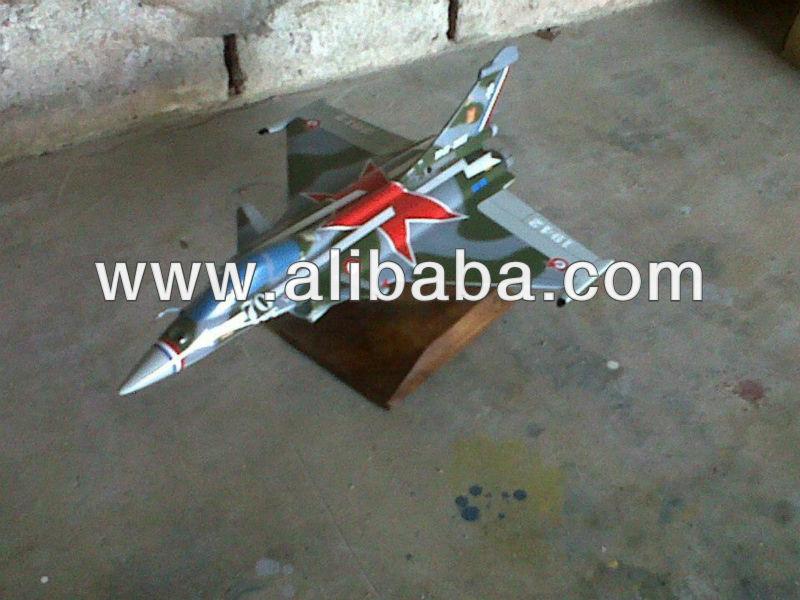 Rafale C Wooden Aircraft Model
