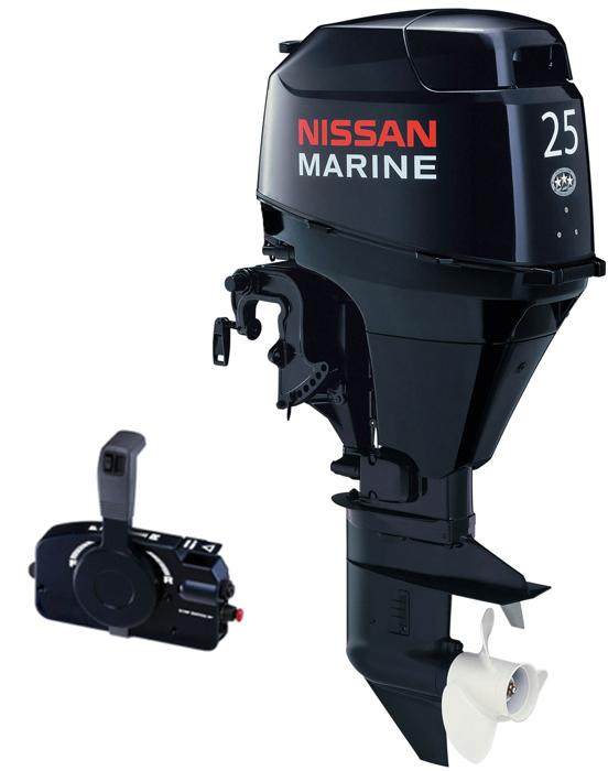 Nissan 25 HP 4-Stroke outboard Motor
