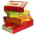売れ筋食品包装ボックスエッグタルト/food箱や包装/ファーストフードの紙箱/段ボール、 食品包装ボックス