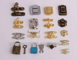 mini gift box lock small jewelry box latch fashion metal lock latch for wooden box