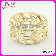 hollow arrow gold bangle for men costume bangle