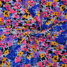 neon color printed tricot nylon fabric china supplier