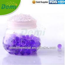 purple polymer gel water beads for making air freshener