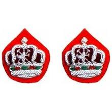 Royal Oman Polis Rank Crowns patches