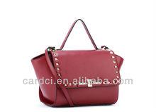 2014 Handbags fashion shoulder bags handbag women tote bag rivet studded handbag