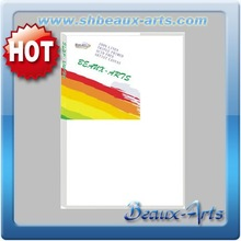 100% cotton 160g blank stretched canvas uk