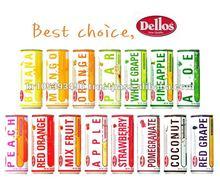 """Dellos"" Brand Fruit Juice Drink 240ml"