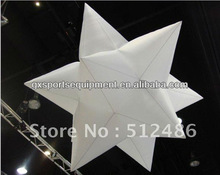 Wholesale 1.5m 210T Polyester Inflatable LED Light Star for Party&Nightclub& Decoration