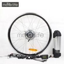"MOTORLIFE HOT SALE kit with 26"" rear 36v 10ah lithium"