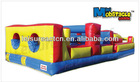 funny inflatable obstacle play playground equipment for special needs children