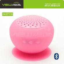 2015 mini portable stereo digital speaker with rubber material VM-BT119