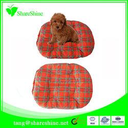 round pet dog kennel/soft cushion