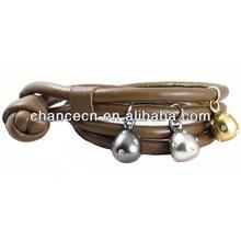Heavy metal bracelet blue dragon bead bracelet baby pineapple charms for bracelet