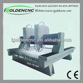 Alta precisão de corte de pedra/gravura router cnc máquina de corte mesa de corte costura