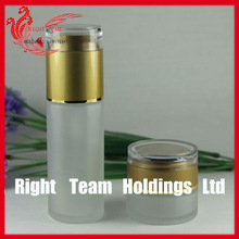 cosmetic bottle jar glass for lotion
