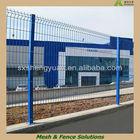 Decorative Modern Garden Fence/Rubber Coated Garden Fence /Blue Garden Fence