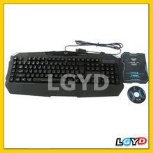 Game Mechanical Keyboard USB Wired Full Keyboard Backlight