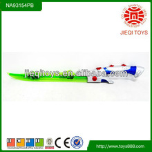 2013 NEW ben10 plastic toy sword flashing sword with music
