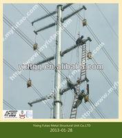 steel galvanized utility poles