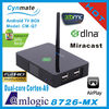 cortex a9 dual core android 4.2 android tv box mini pc
