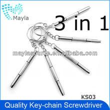 Best selling 3 in 1 laptop screwdriver repair tool ,multi-function screwdriver for phone,eyeglass,watch